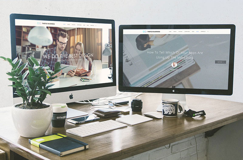 Workspace Mockup IMac