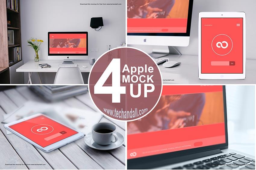 Apple Workspace Mockup