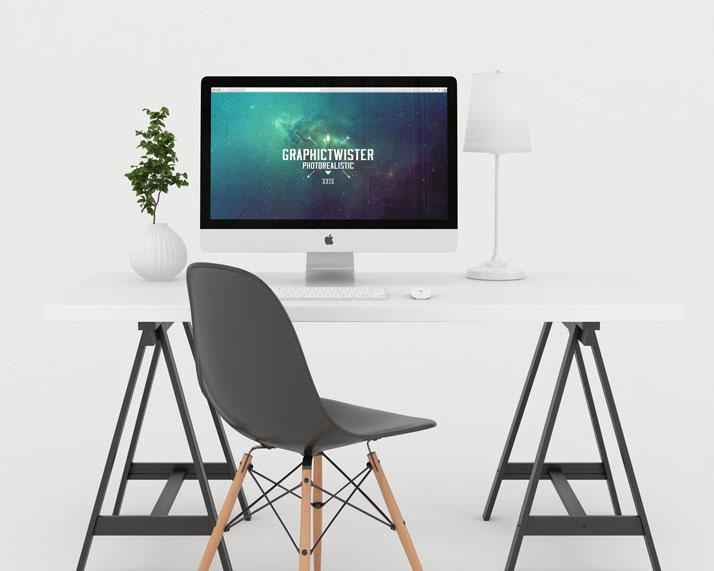Studio Workspace Mockup