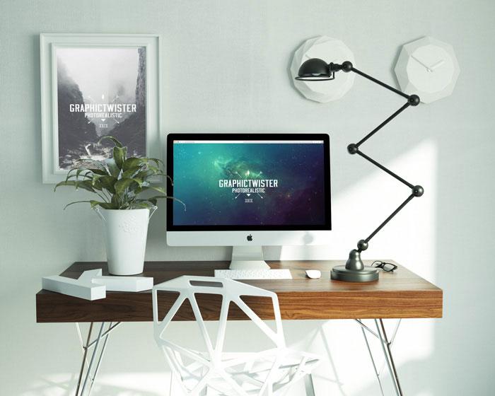Uniqe Workspace Mockup