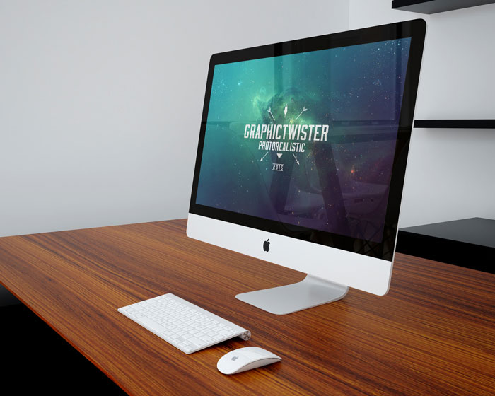 Office Workspace Mockup