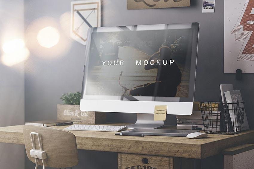 Workspace Mock-up