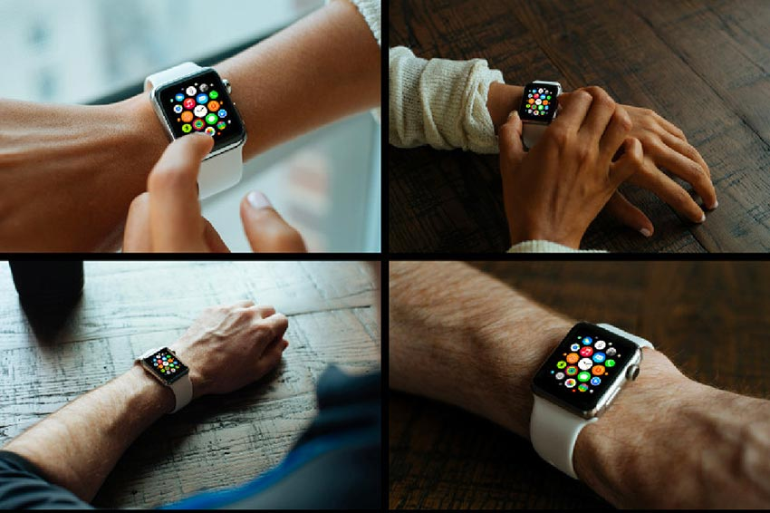 Five Apple Watch Mockups