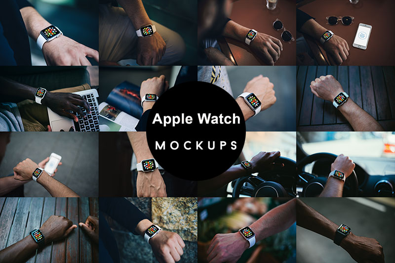 Best Free Apple Watch Mockup PSD