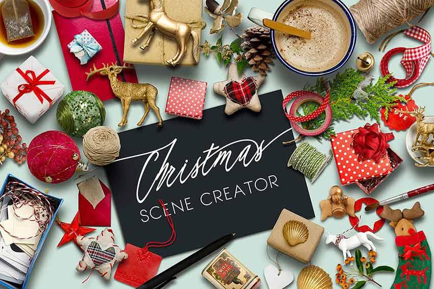 Scene Creator Christmas PSD