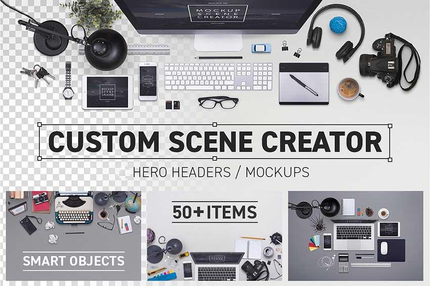 PSD Mockup Scene Creators