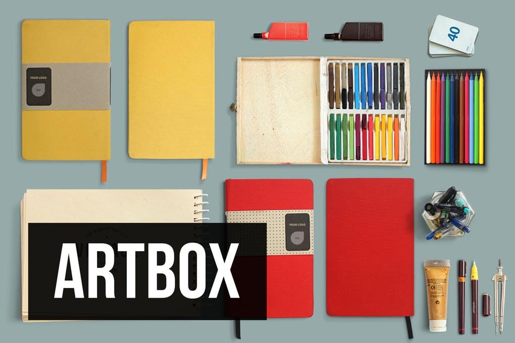 ArtBox - Artistic Mockup Kit