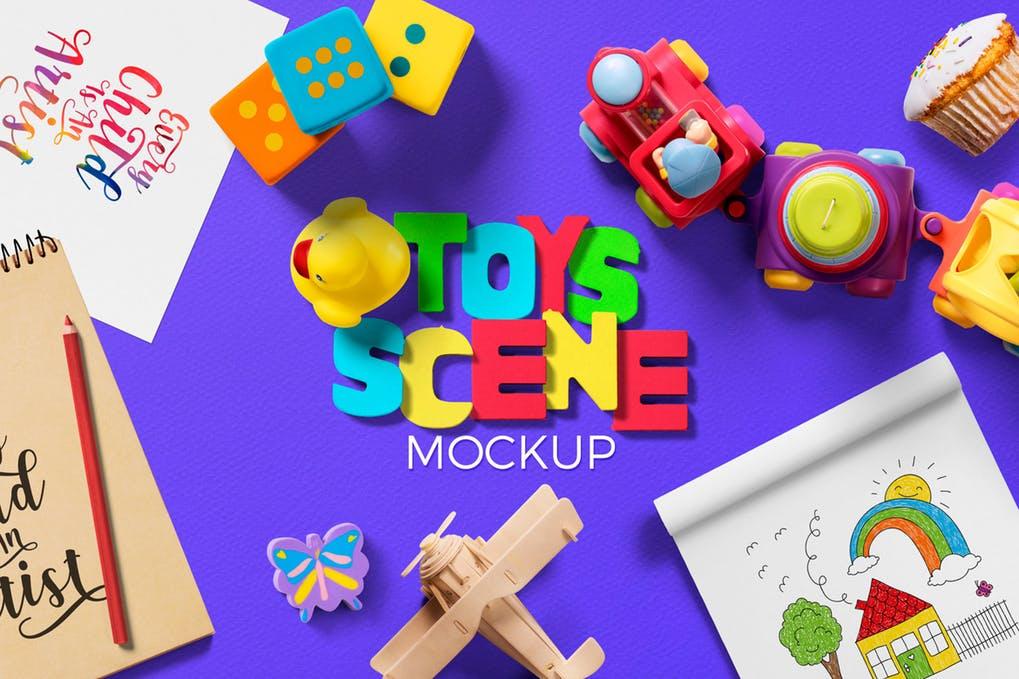 Toys Scene Creator