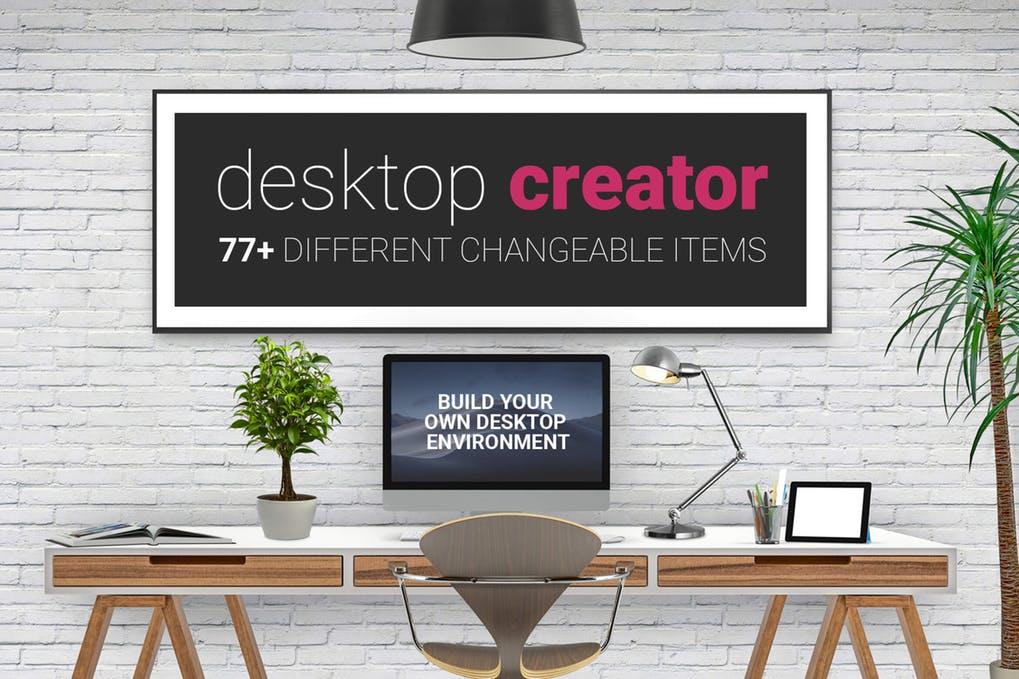 Desktop Creator Mockup