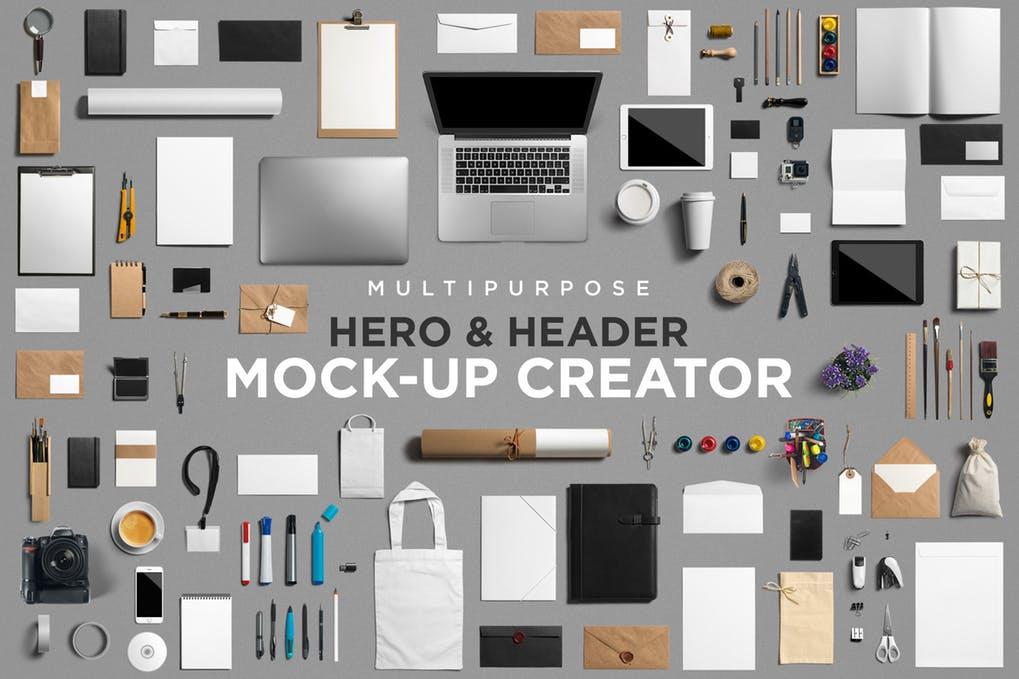Multipurpose Mockup Scene Creator