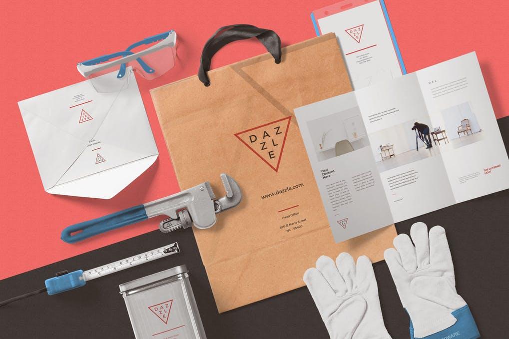Paper Bag Mockup Scenes