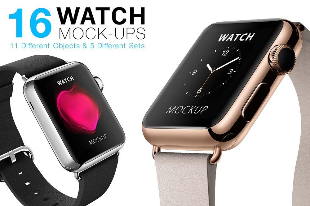 Apple Watch Mockups