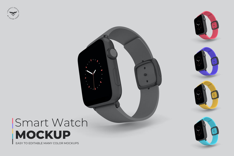 Smart Watch Mockups