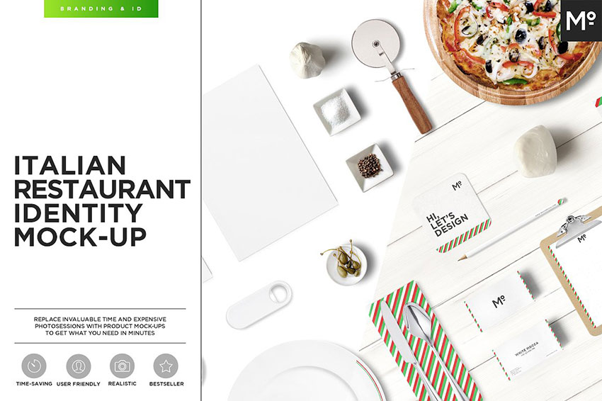 Restaurant Identity Mock-up