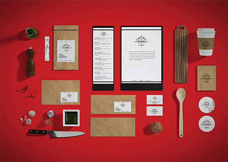 Restaurant / Food Branding Identity Mock-up