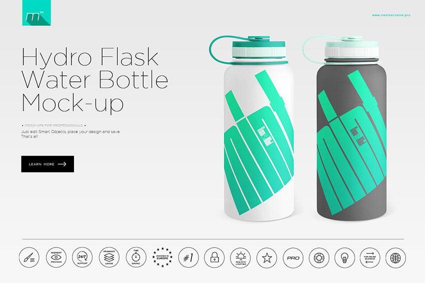 Water Bottle Mock-up