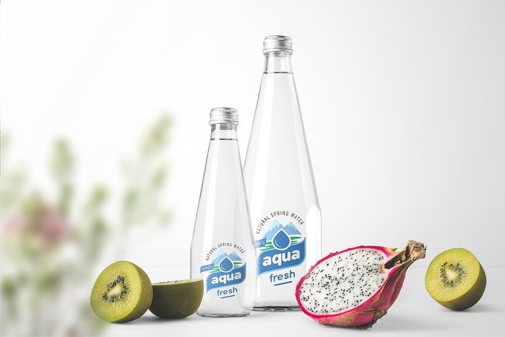 Water Bottle Mockups