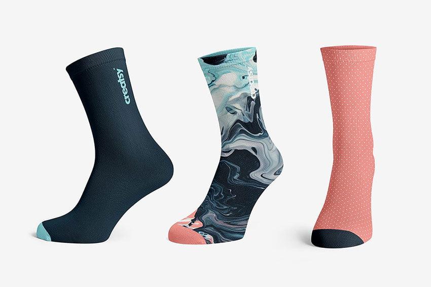 Socks Mockup Set