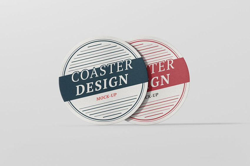 Round Coaster Mock-Up