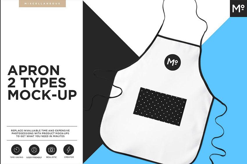 Apron 2 Types Mock-up