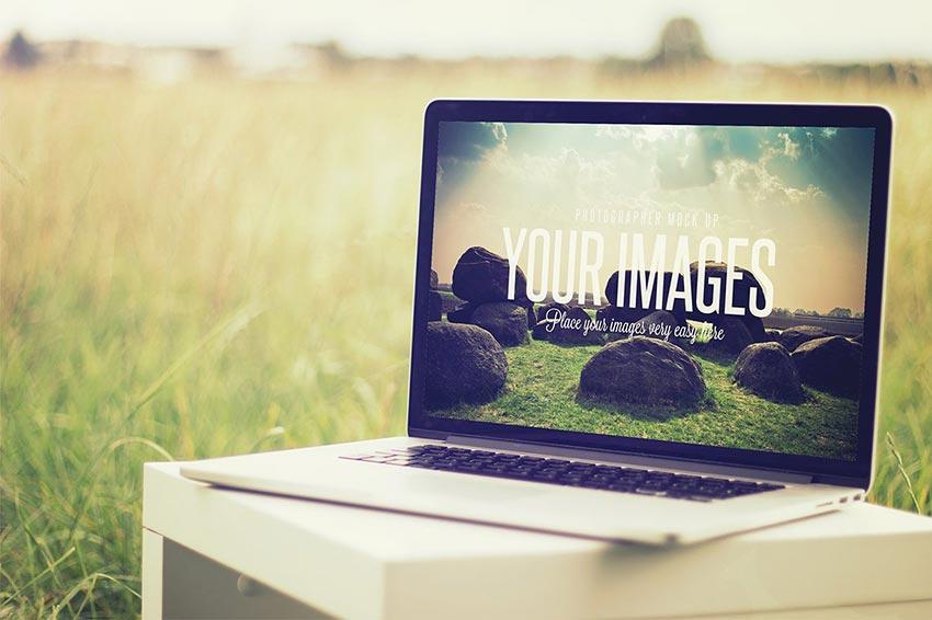 Beautiful Laptop Mockup PSD Templates