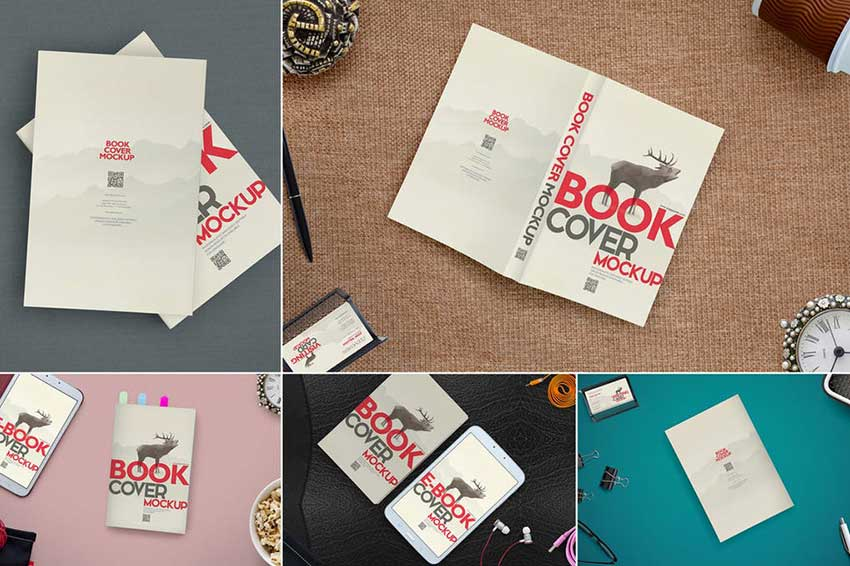 Gorgeous Book Cover Mockups
