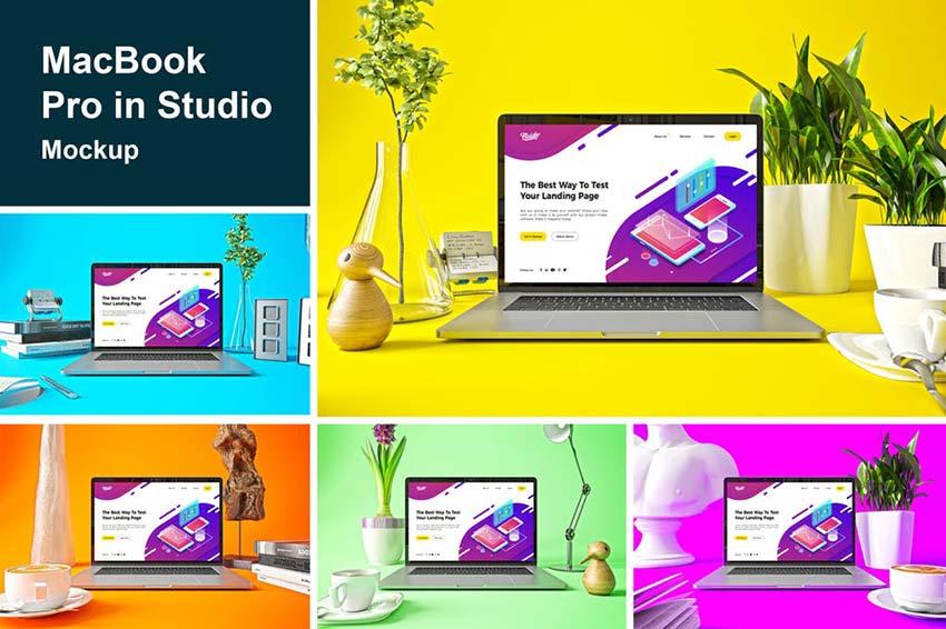 MacBook Pro in Studio