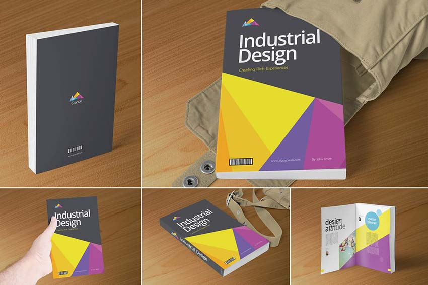 Professional Book Cover Mockups
