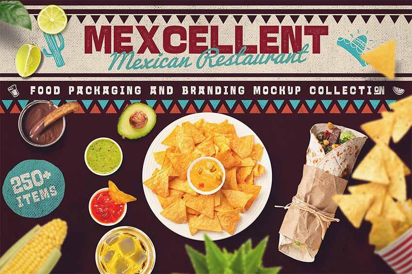 Food Scene & Mock-up Creator