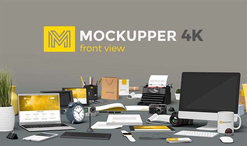 Mockupper scene generator