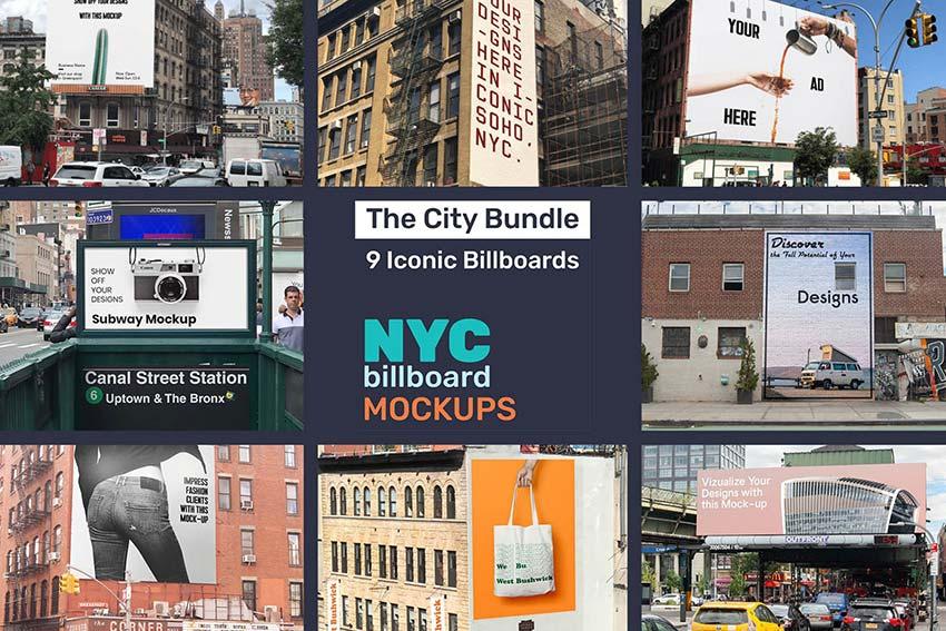 Billboard Mockup Bundle