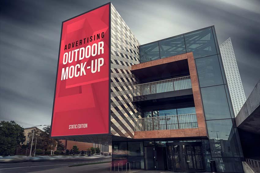 Outdoor Advertising Mockups