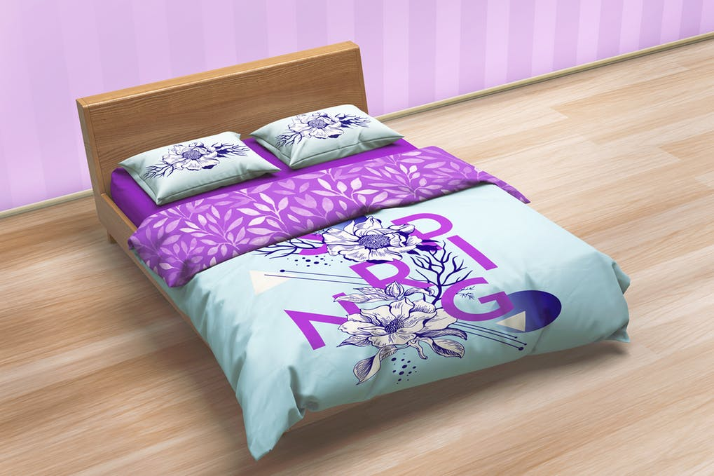 Bedding Sets & Bed Linen Mockup