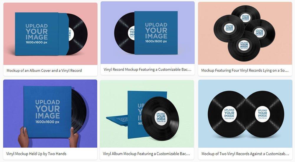 best Vinyl Mockup