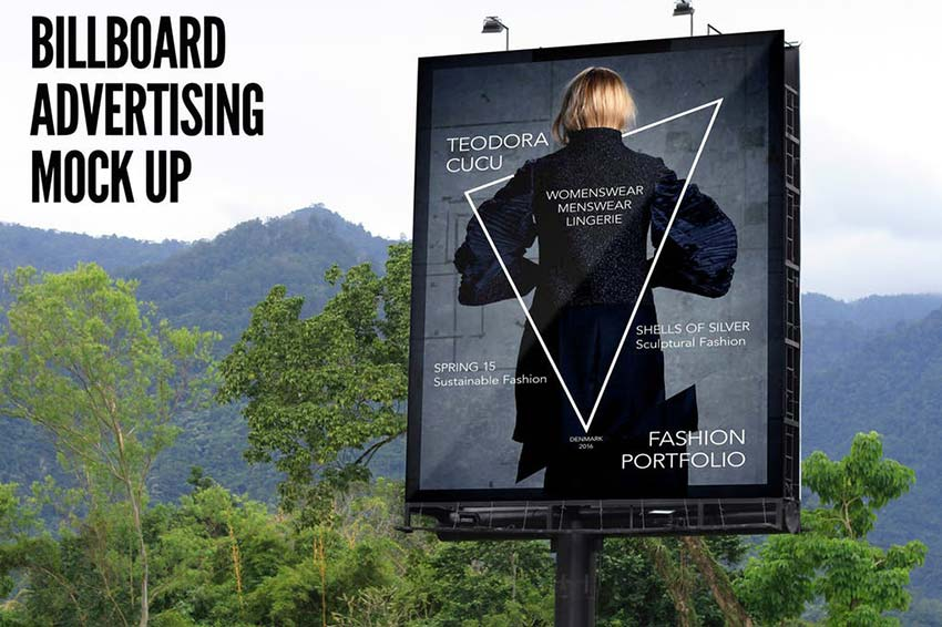 Billboard Advertising Mock Up