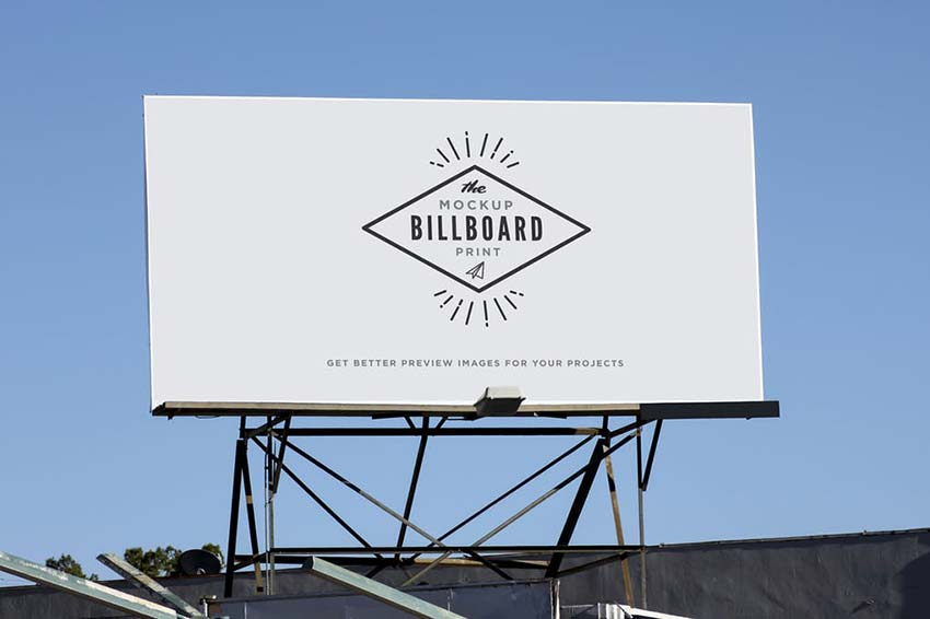 Billboard Mock-Up Urban Style