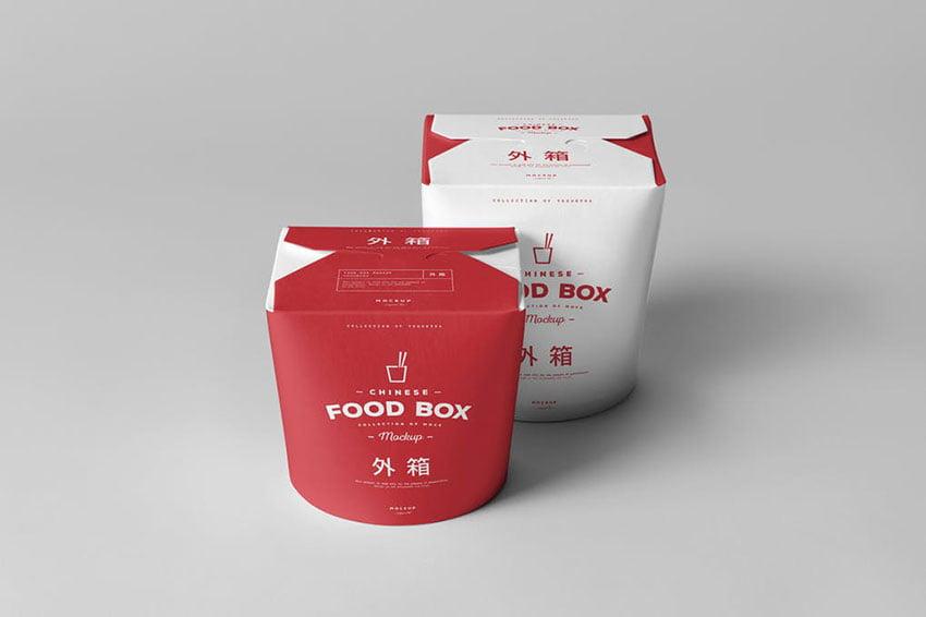 Food Box Mock-up