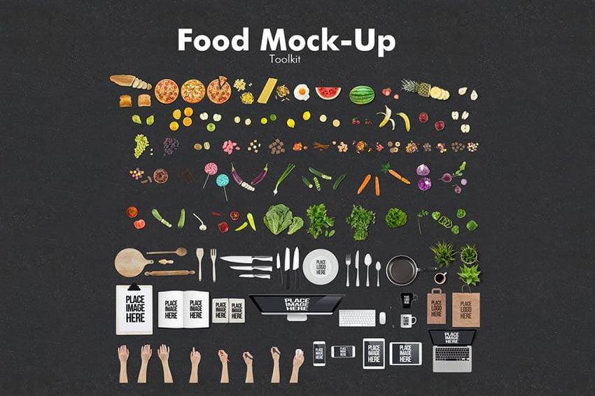 Food Mockup Toolkit
