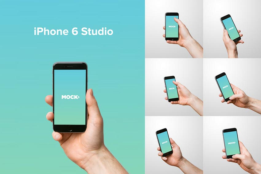iPhone Studio Mockups