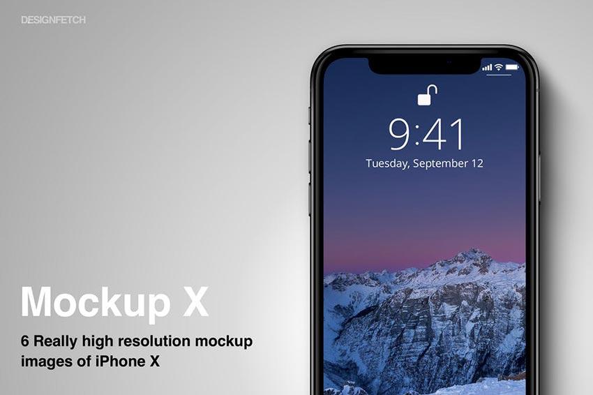 Mockups iPhone X