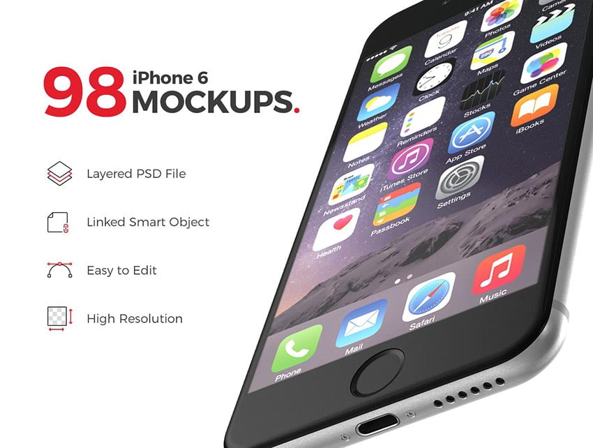 98 Perfect iPhone Mockups