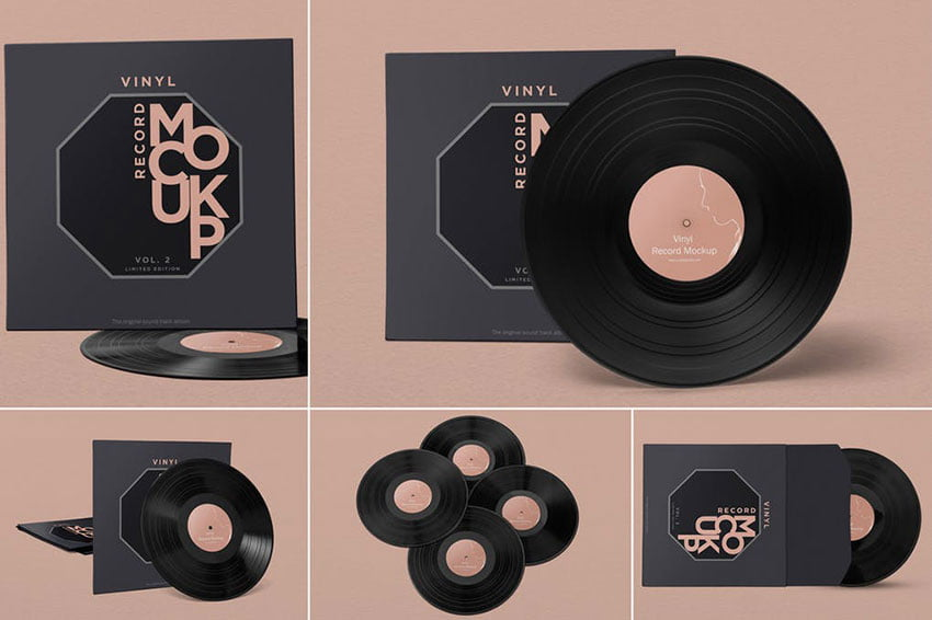 Record Album Mockups