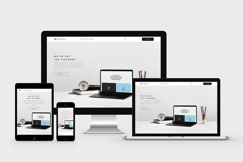Responsive Device Mock-Up