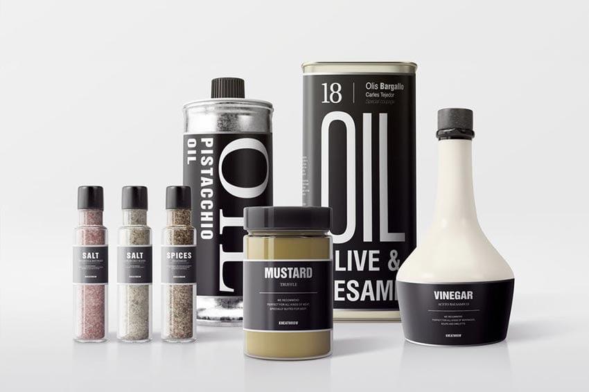 Seasonings Packaging Mock-Ups