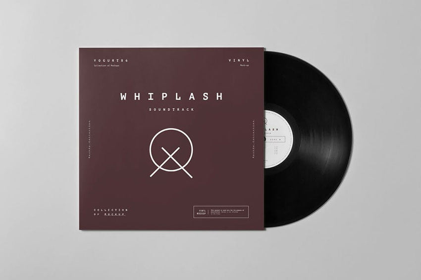 Vinyl Mock-up