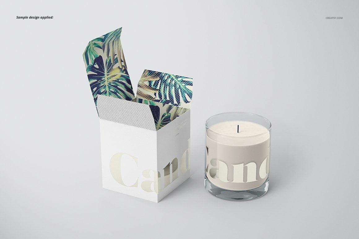 Candle Mockup Set