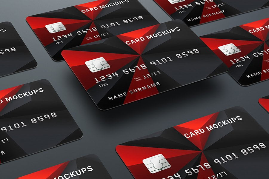Credit Card Mock-Ups / Bank