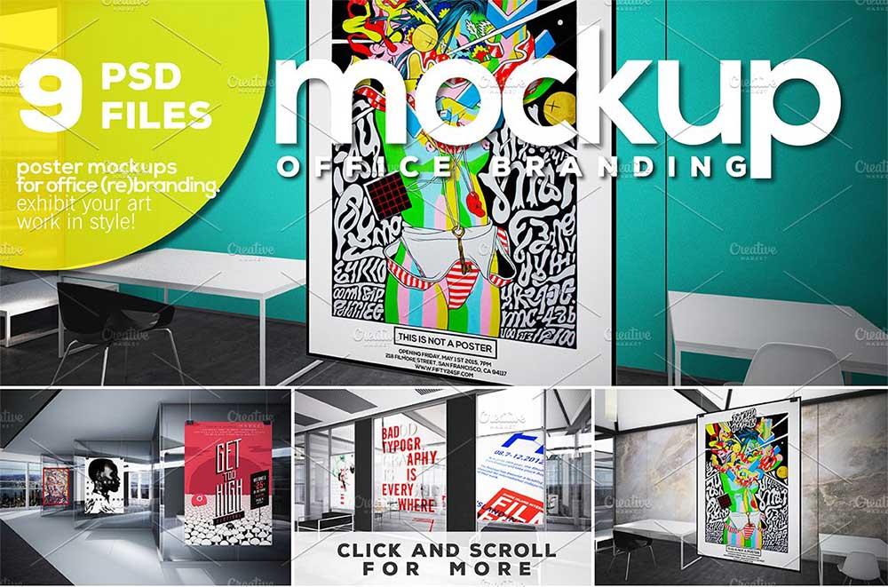 Office Mockup Branding