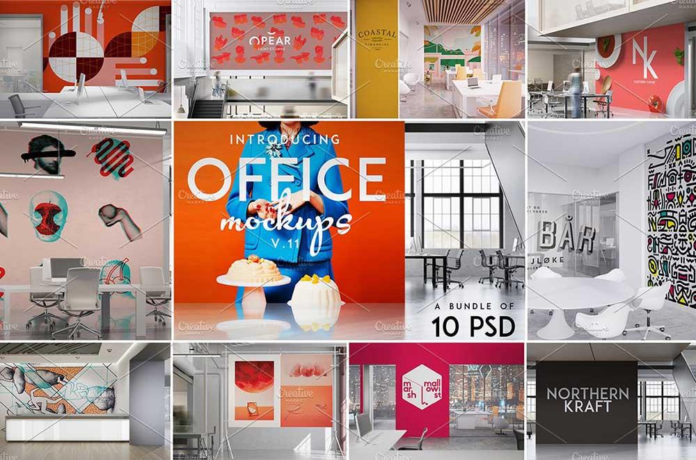 Office Mock-ups Bundle