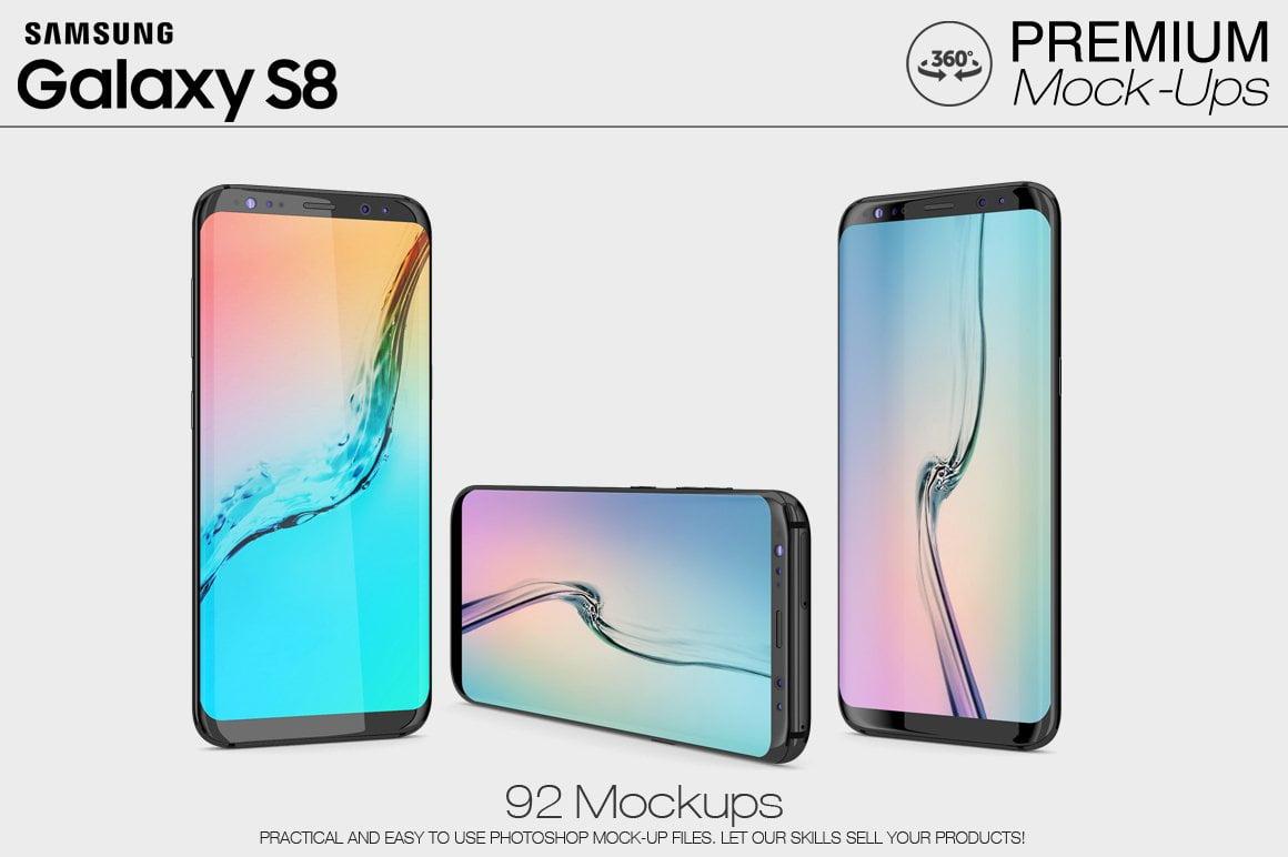 Samsung Galaxy S8 Mockup Pack